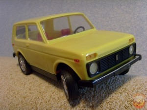 Модель автомобиля Нива
