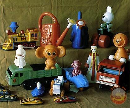 Коллекция советских игрушек